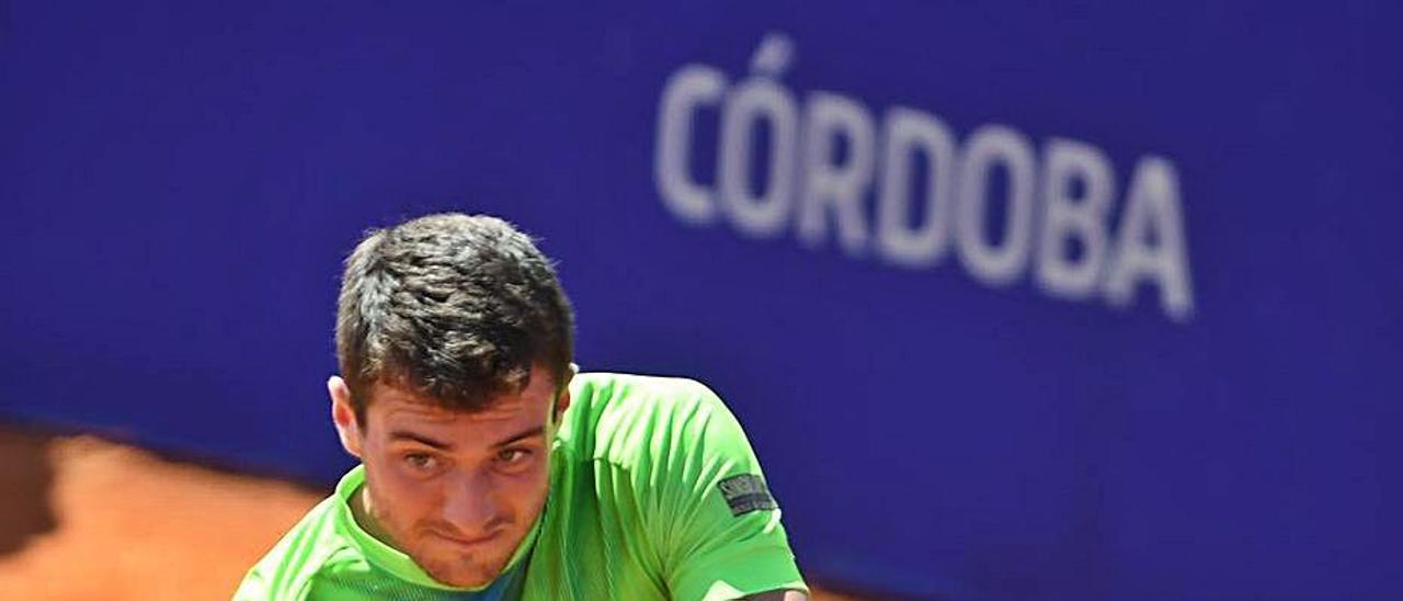 Martínez Portero, el año pasado en el Open de Córdoba.   LEVANTE-EMV