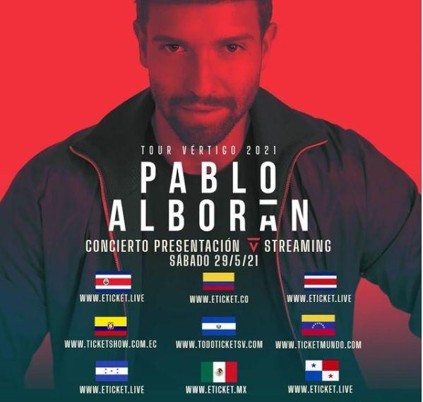 Tour de Pablo Alborán