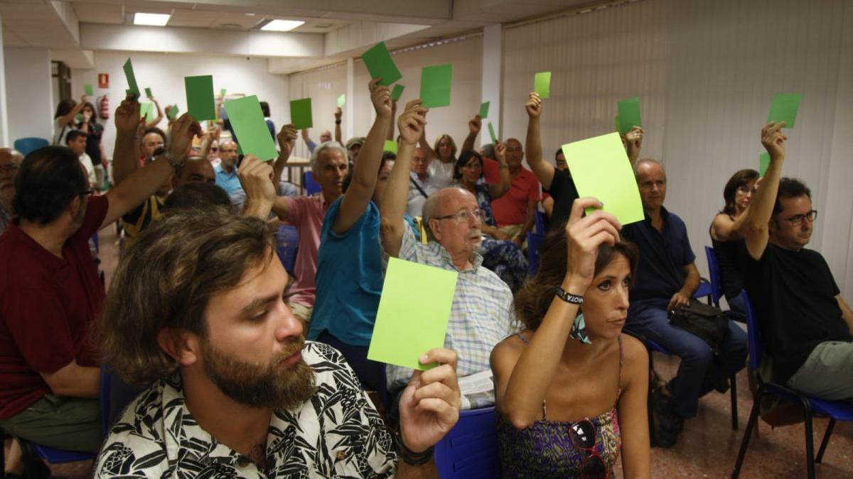 """Ganemos dice """"no"""" a formar parte del proyecto político de IU y Podemos"""