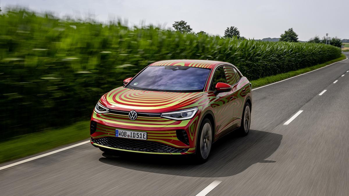 Novedades del Salón de Múnich (IAA) 2021: nuevo Volkswagen ID. 5 GTX