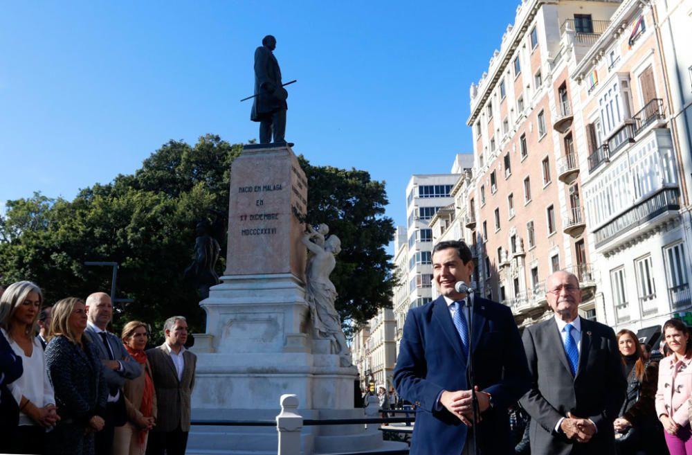 Autoridades locales y autonómicas inauguran las últimas obras de la Alameda.