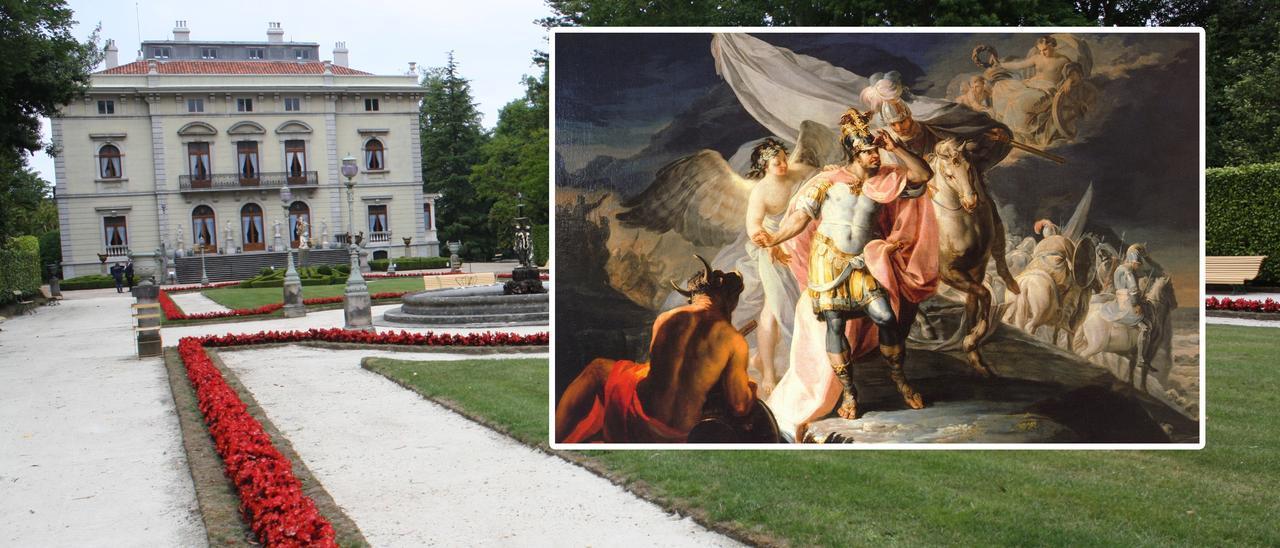 """La Fundación Selgas, que acaba de vender el cuadro """"Aníbal vencedor"""", de Goya -en primer término-."""