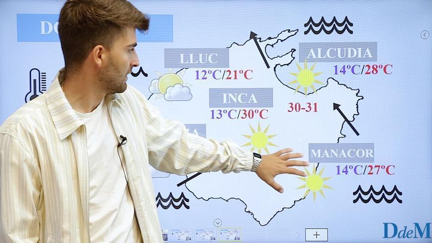 El tiempo del fin de semana en Mallorca: Los primeros 30°C de este 2021