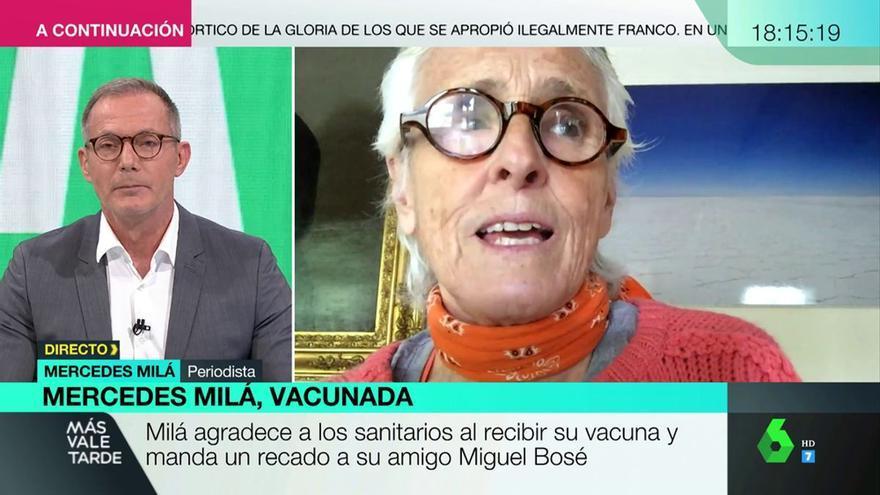 """El cabreo de Mercedes Milá en directo en laSexta: """"¿Qué protección infantil ni qué niño muerto?"""""""
