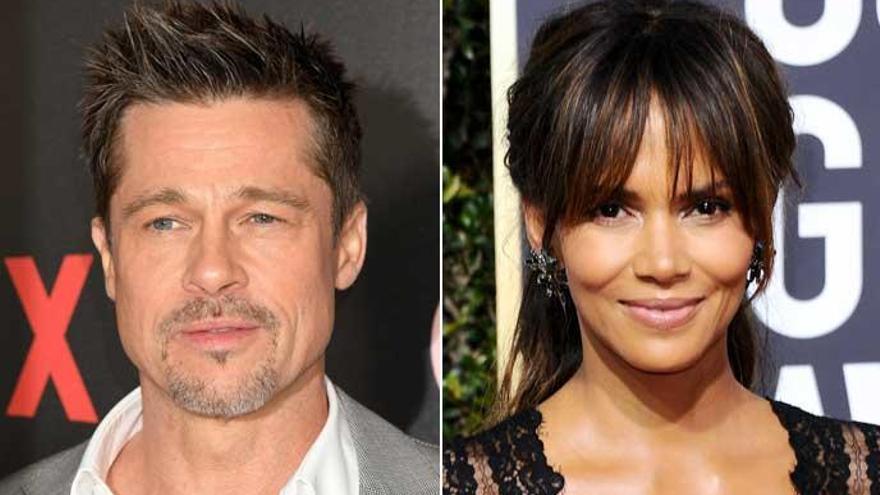 Brad Pitt y Halle Berry, ¿nueva pareja en Hollywood?
