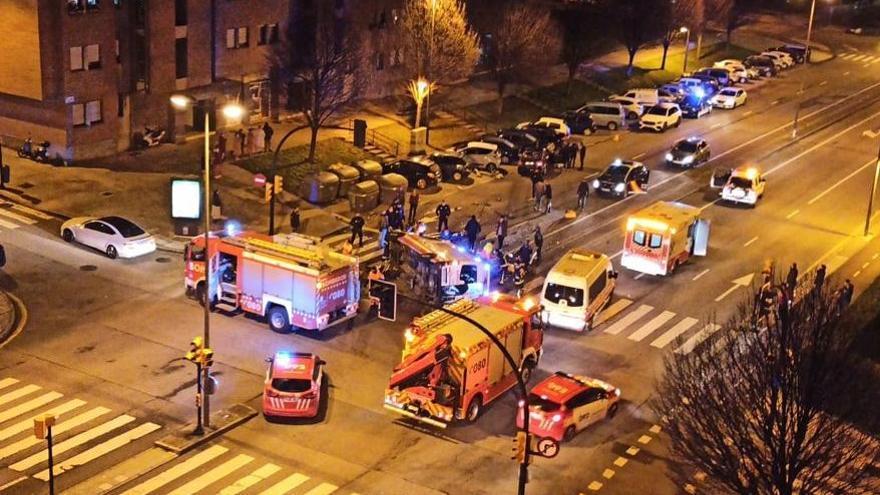 Fallece un técnico de ambulancias de 37 años en un accidente de tráfico en Gijón