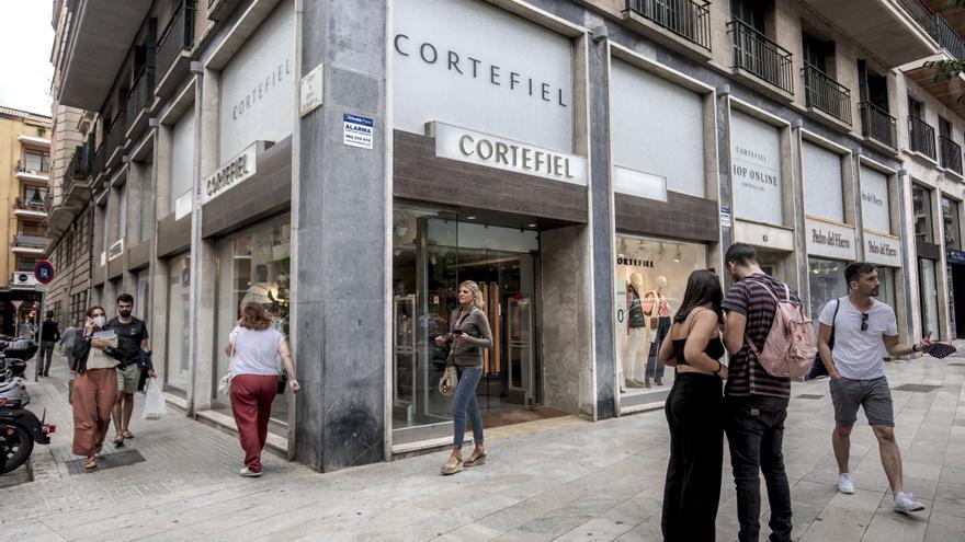 Cortefiel cierra su tienda de Jaume III en Palma