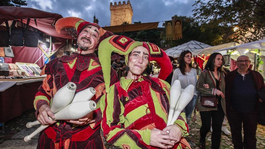 Regresa el Mercado Medieval de Cáceres, sin animales