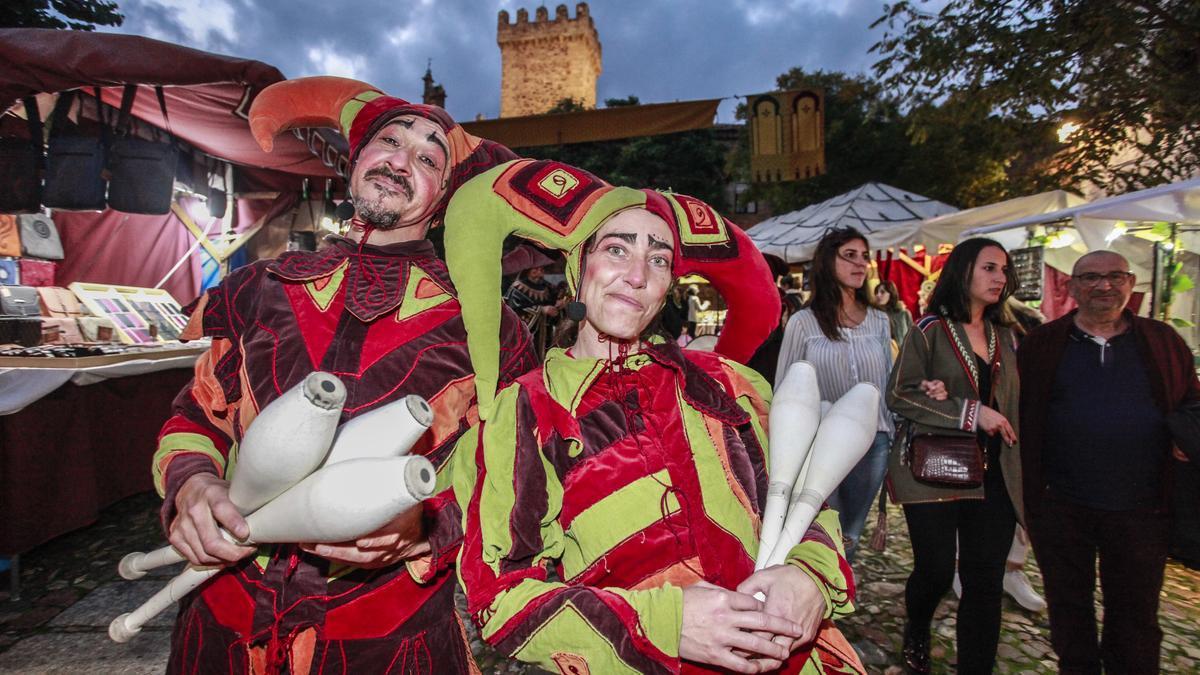 Imagen de una edición anterior del Mercado Medieval de las Tres Culturas.