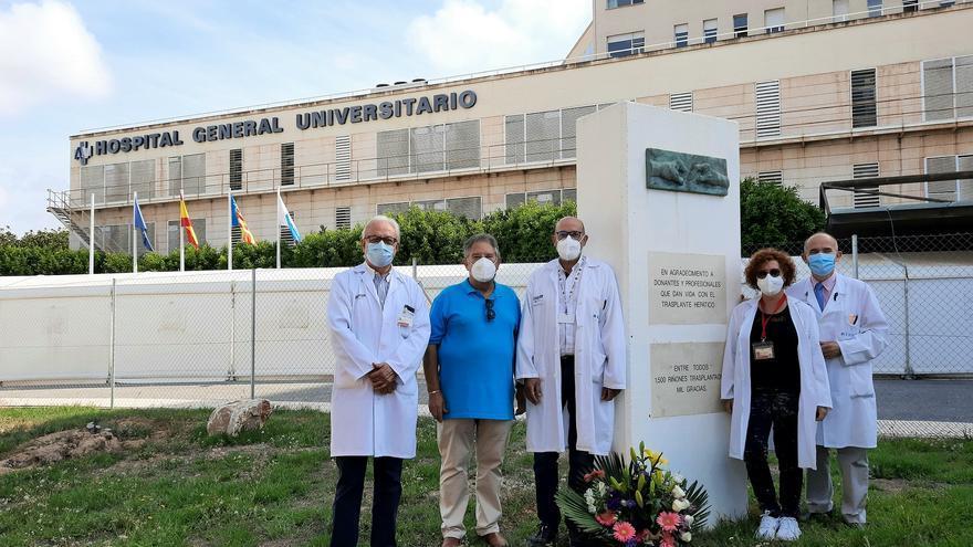 Más de 1.000 donantes de órganos en el Hospital General de Alicante salvan la vida de 2.300 personas