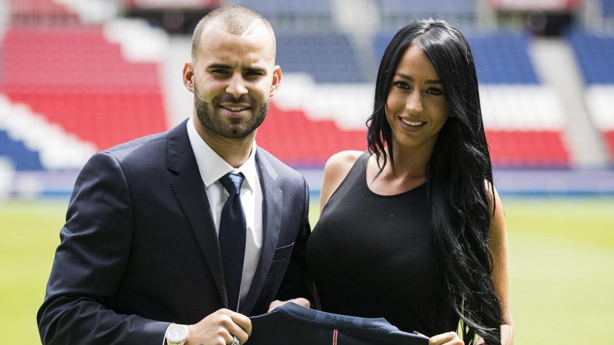 Jesé Rodríguez y Aurah Ruiz, en una imagen de archivo.