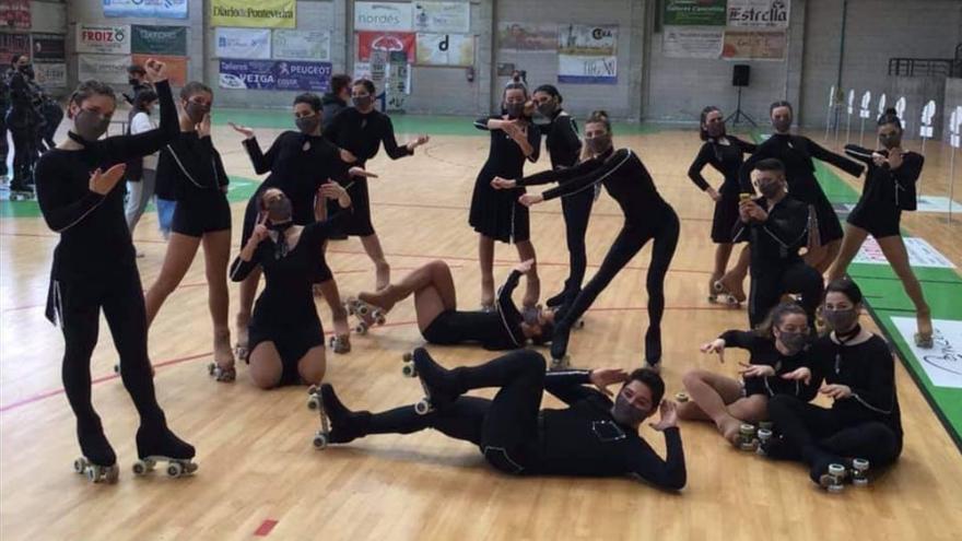 El Carpa Viqueira, sexto en el Campeonato de España de Grupos Show