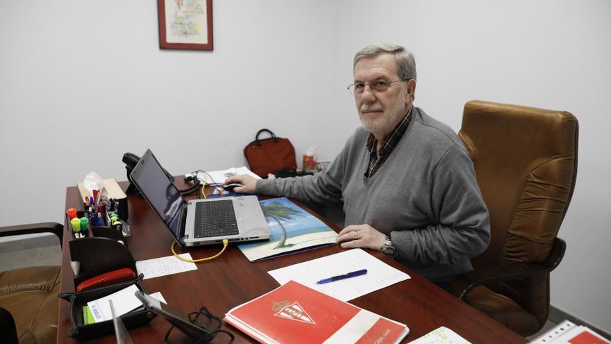 Rogelio García, responsable de captación del Sporting, se jubila