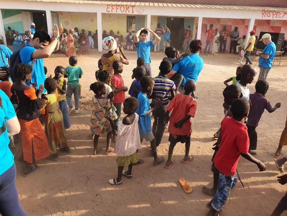 Docents i estudiants de Sagrada Familia-PJO viatgen al Senegal