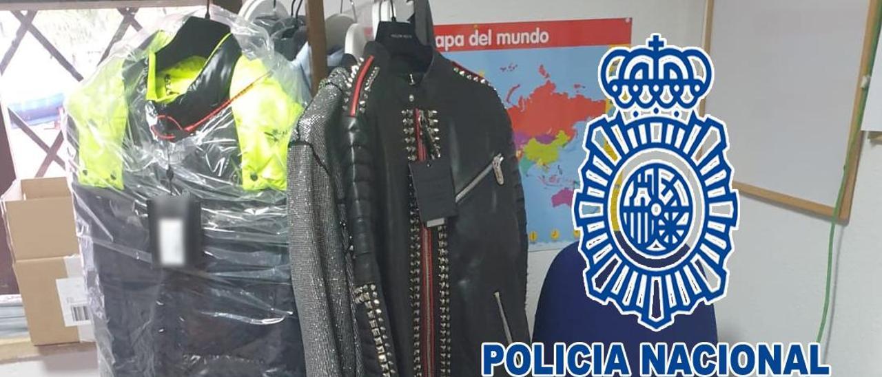 Artículos comprados por el camarero detenido por la Policía en Dénia.