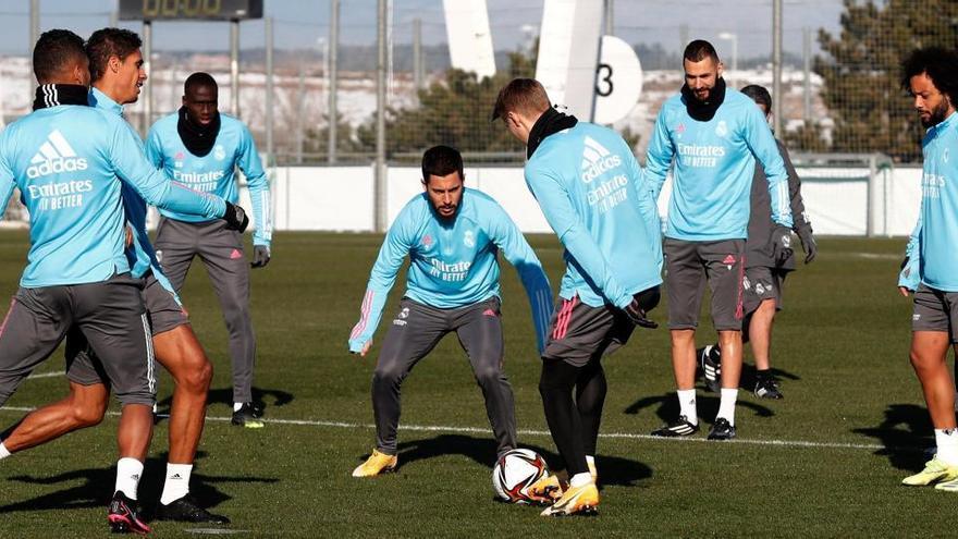 El Real Madrid se prueba ante el Alcoyano y su moral