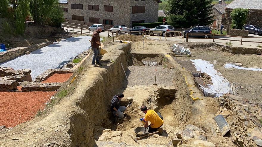 La meitat del fòrum romà 'Iulia Libica' es podrà veure de forma unificada després de la campanya d'excavacions d'enguany