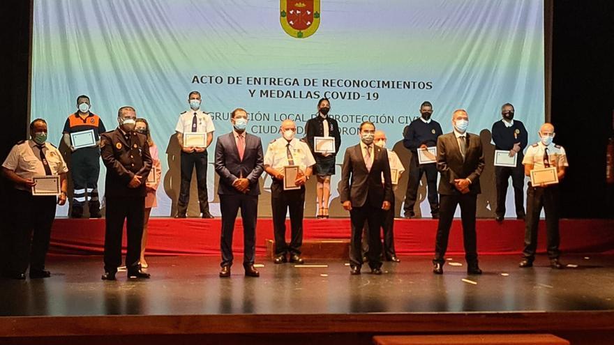 Tacoronte homenajea a los voluntarios de Protección Civil