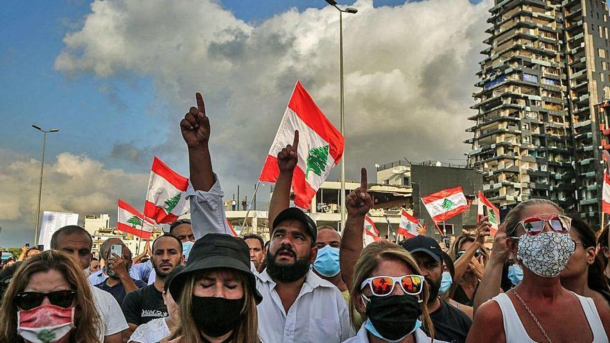 Les autoritats libaneses coneixien el risc d'explosió al port de Beirut