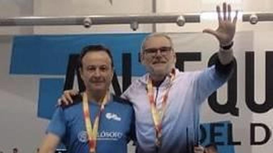 El CA Gandia suma otros dos podios en el Nacional máster