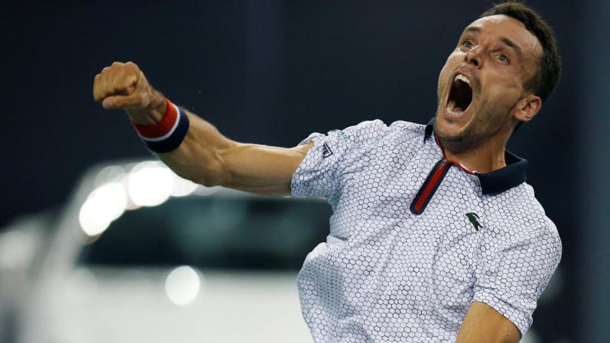 Bautista apabulla a Tsonga y se cuela en semifinales de Shanghái