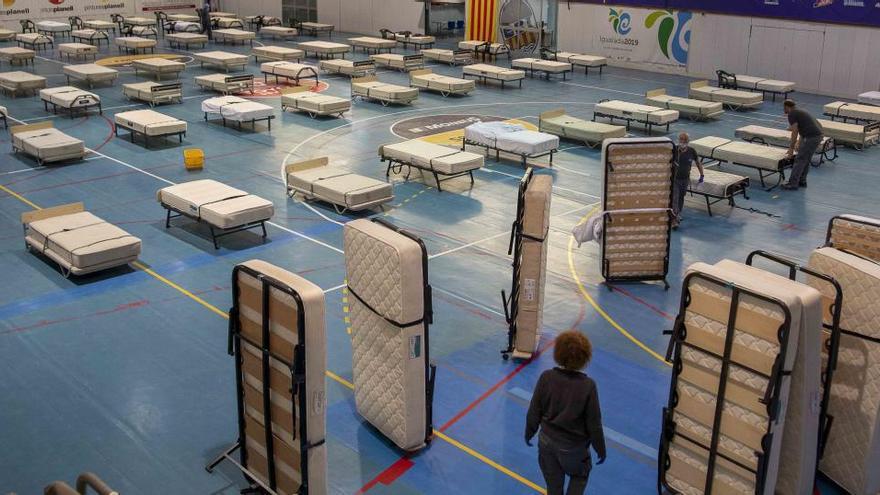 Salut preveu reservar 4.000 llits per si calguessin durant la segona onada de la covid-19