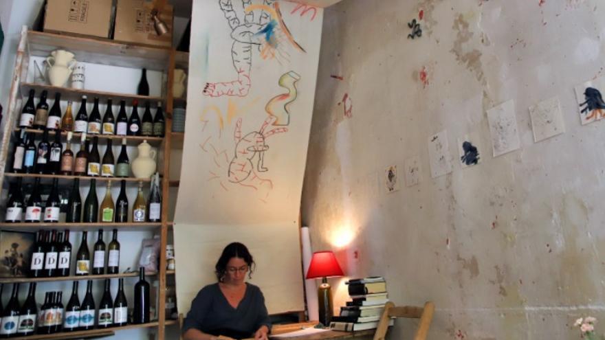 Jugo invita a disfrutar de una instalación artística de Fátima Moreno