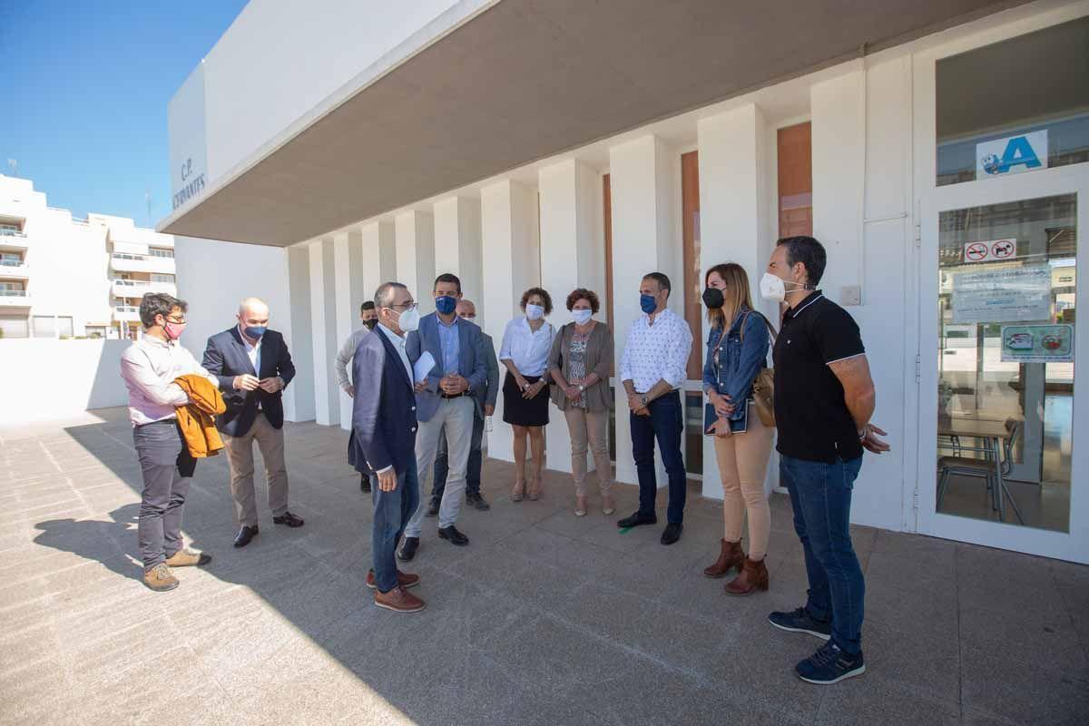 El colegio Cervantes generará energía solar para 70 casas y diez pymes de Ibiza