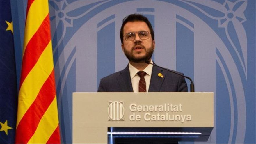 """Aragonès muestra su apoyo a los Mossos pero pide """"no criminalizar las protestas"""""""