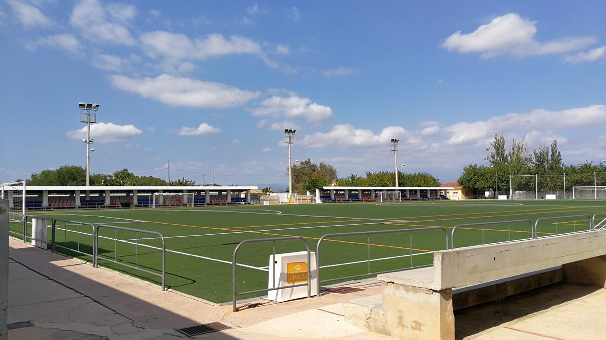Camp de Fútbol en Riba-roja de Túria.