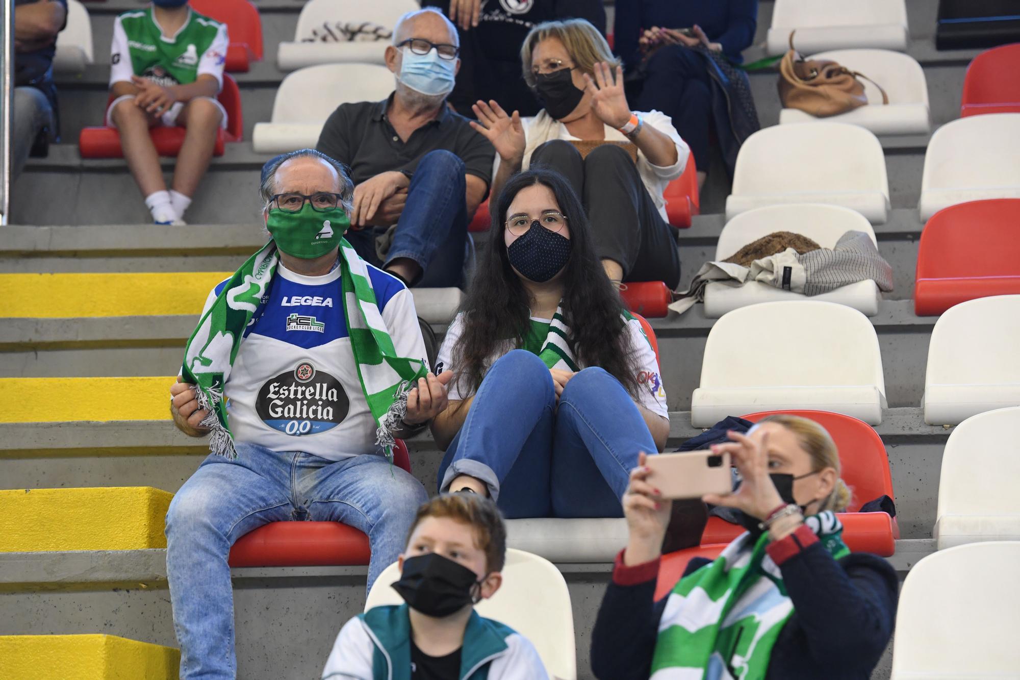 Ambientazo en la Copa del Rey y de la Reina de Hockey en A Coruña