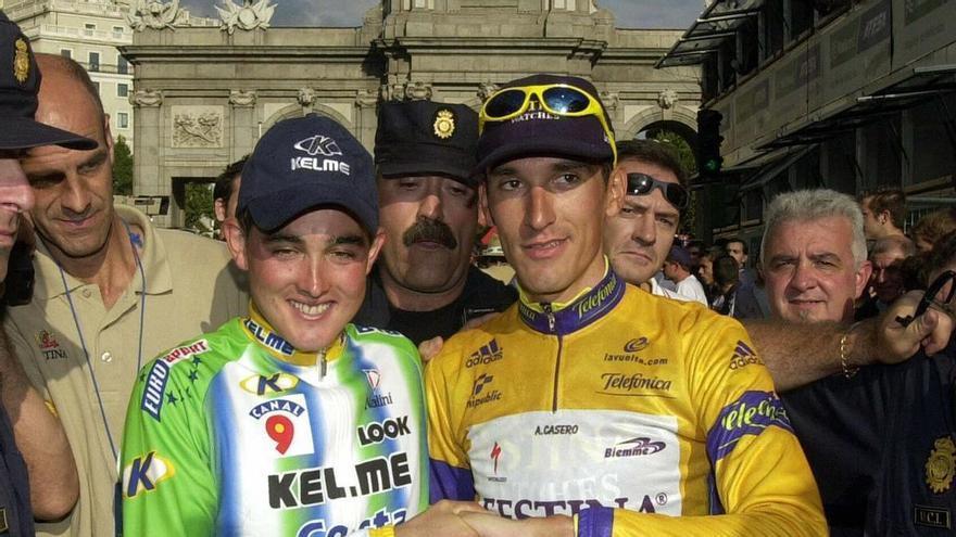 Se cumplen 20 años de la Vuelta a España de Ángel Casero