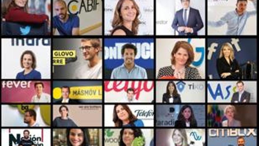 El Instituto Coordenadas elabora un ranking con los veinticinco ejecutivos que lideran la transformación digital de las empresas en España
