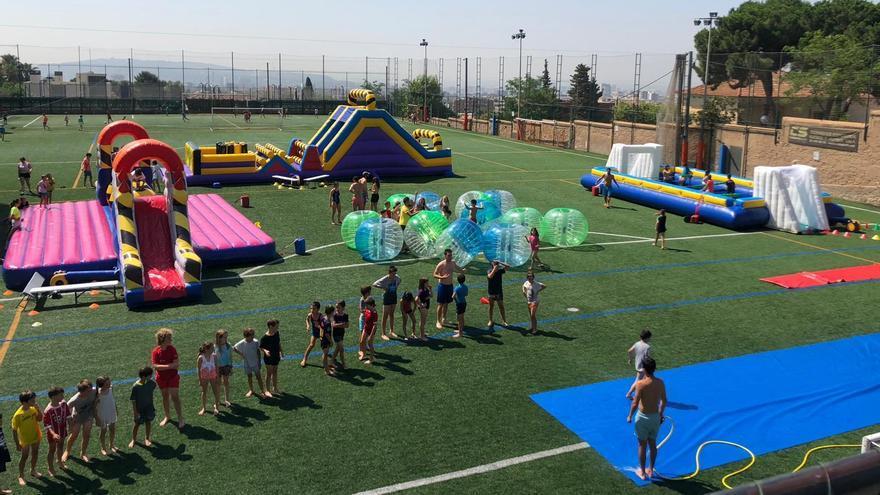 Humor amarillo park i entrenament rural a Sant Pere Pescador
