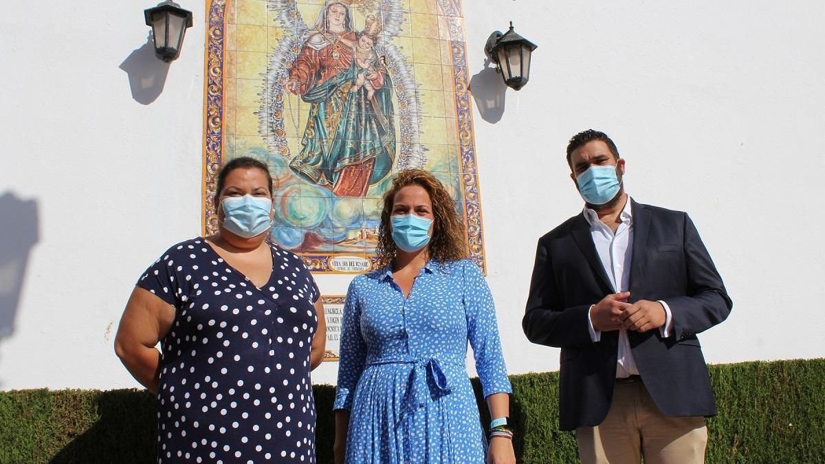 La concejala de Fiestas de Fuengirola, Isabel Moreno, informó sobre la suspensión de la Feria del Rosario 2020.