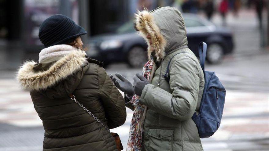 Castellón registra temperaturas bajo cero esta madrugada