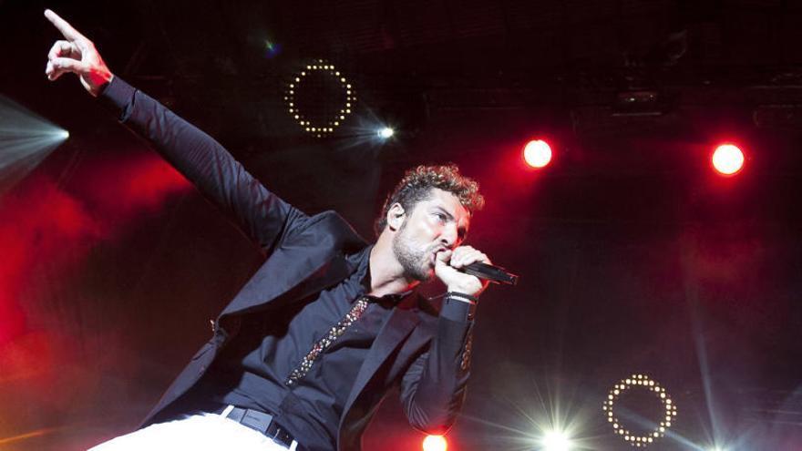 David Bisbal traslada su concierto en Murcia al 2021