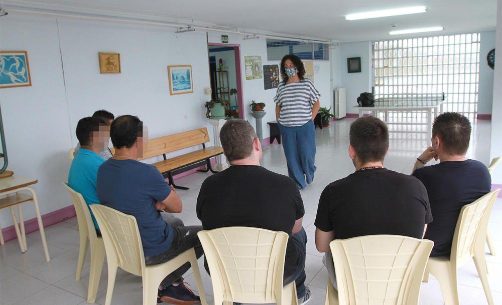 Los internos de este programa comparten espacios y actividades. // Iñaki Osorio