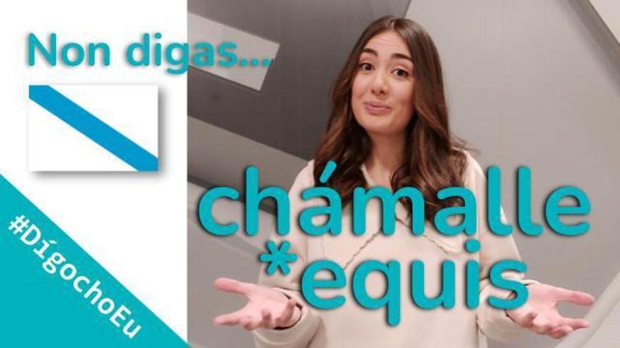 """A ourensá de moda nas redes sociais: """"O galego mola, dígocho eu"""""""