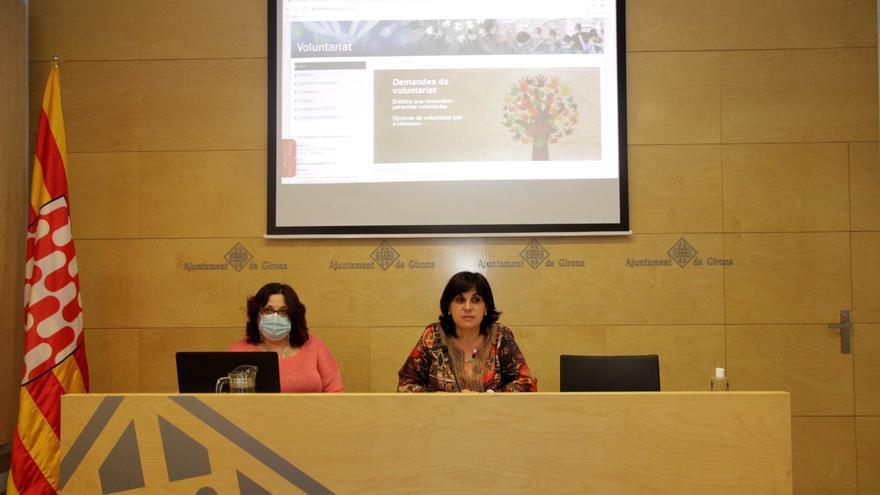 Girona engega una web per posar en contacte voluntaris i entitats