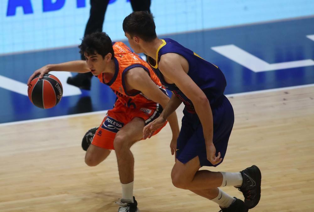 Partido Valencia Basket - Barça Euroleague Basketball Adidas Next Generation