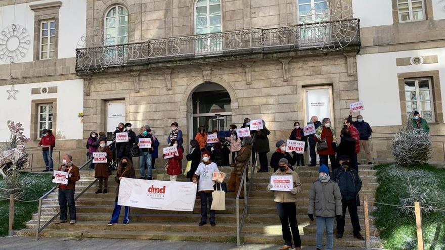 Denuncian en Vigo el incumplimiento por parte de la Xunta de la ley de muerte digna