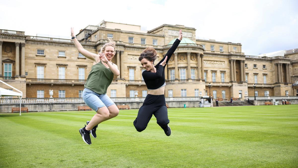 Jardines de Buckingham Palace.