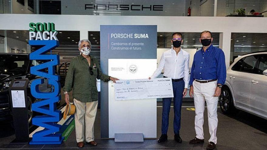 Centro Porsche Baleares recauda 6.500€ para el Banco de Alimentos de Mallorca