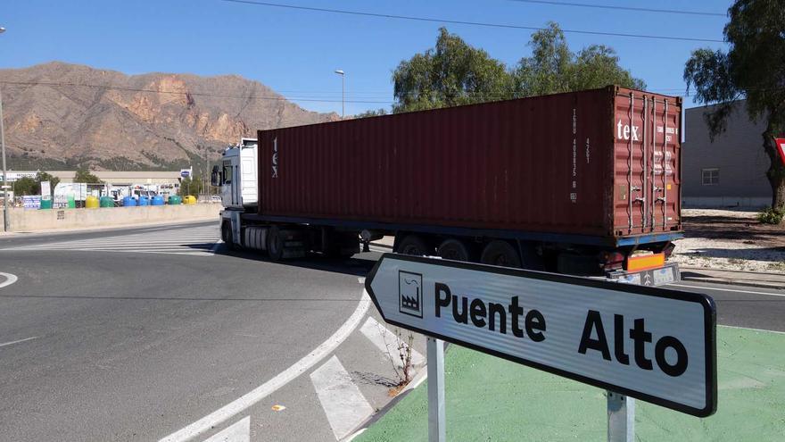 Orihuela consigue una subvención de 165.340 euros para mejorar el Polígono Industrial 'Puente Alto'