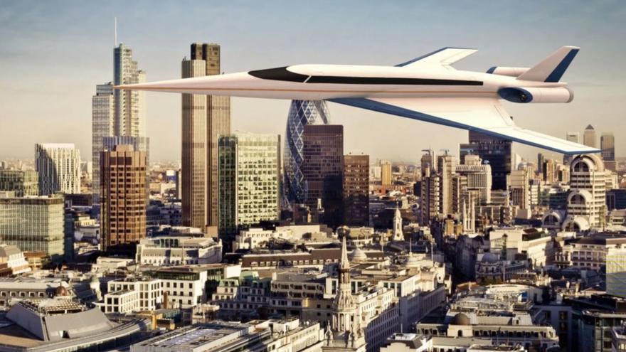 Los vuelos a bordo del Concorde 2.0 superan la velocidad del sonido y serán baratos