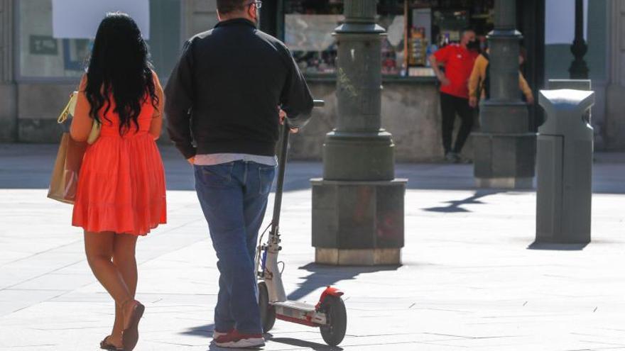 Las soluciones que aporta el Concello de Vilagarcía a los desmanes de los patinetes eléctricos