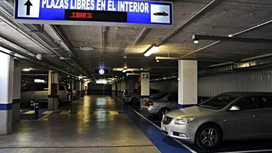 Finaliza la bonificación de la tarifa de los aparcamientos en rotación