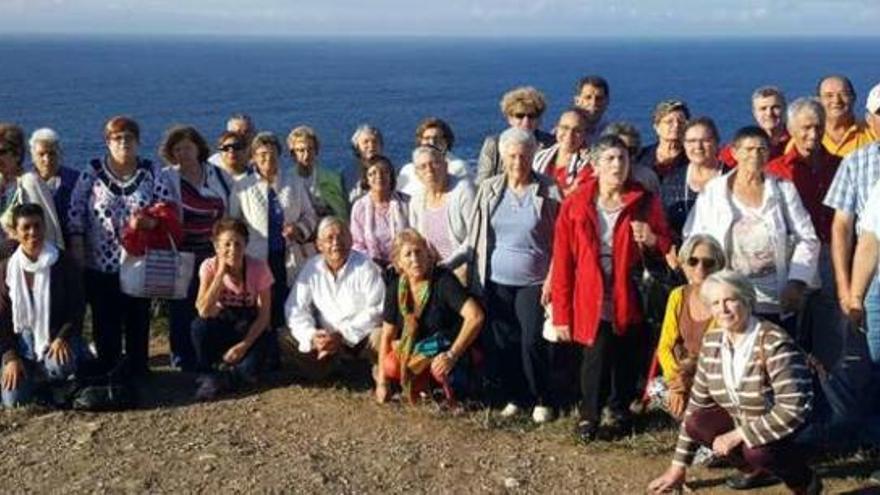 Excursión de mayores de Bergondo a San Andrés de Teixido