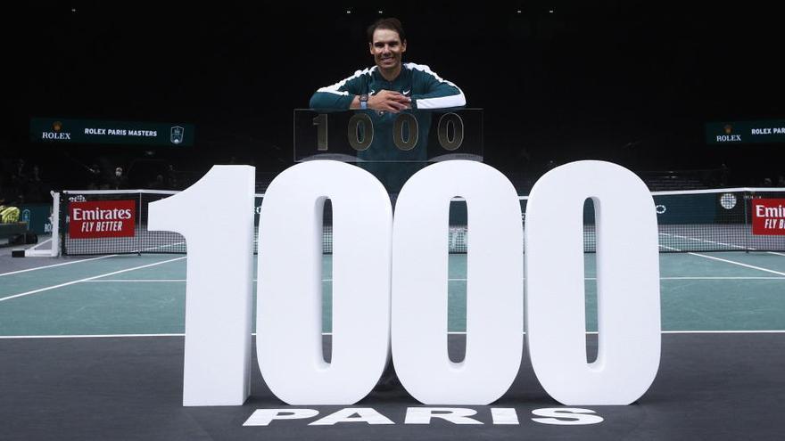 Nadal remonta a Feliciano López y logra su triunfo 1.000
